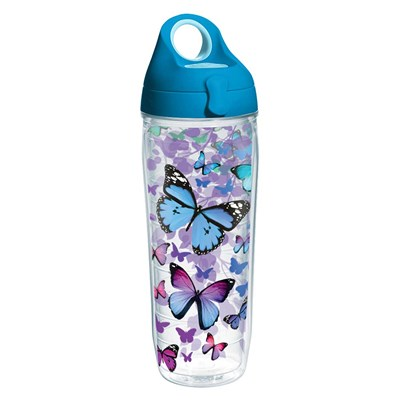 Tervis ® Blue Butterflies Water Bottle