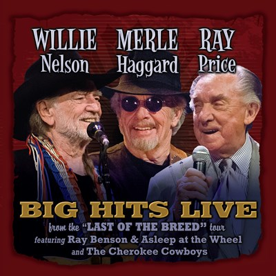 Willie, Merle & Ray - Big Hits Live CD