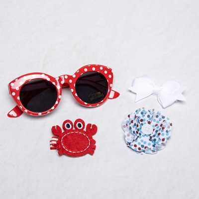 Infant Nautical Sunglass and Clip Set