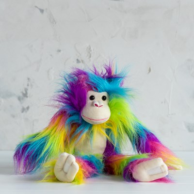 Rainbow Monkey Shaggimals