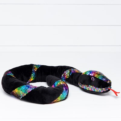 Sequin Rainbow Snake