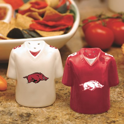 Jersey Salt & Pepper Shaker Set - Arkansas