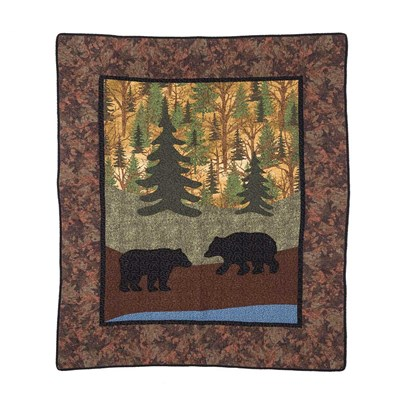 Two Bears Throw by Donna Sharp