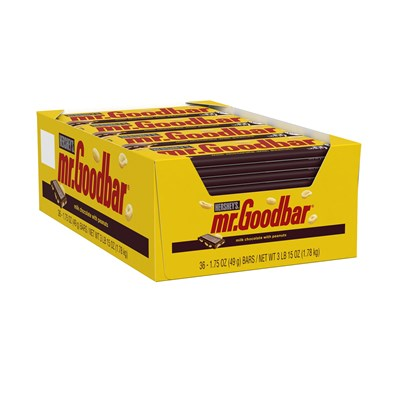 Mr. Goodbar Milk Chocolate Bars - 36 Count