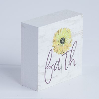 """Faith"" Daisy Block"