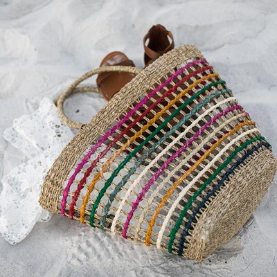 Seagrass Rainbow Bag