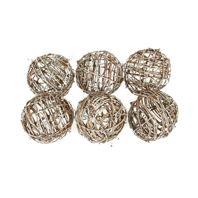 Twig Balls - Set of 6