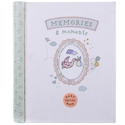 Memories and Moments: Baby Record Book