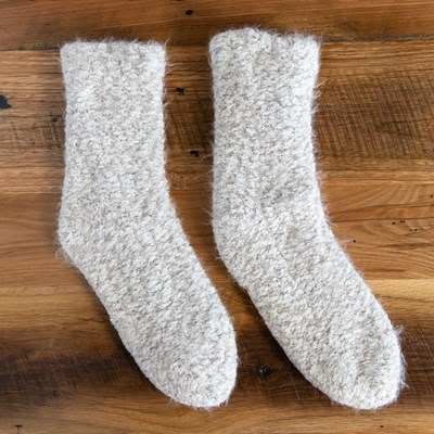 Fuzzy Slipper Sock
