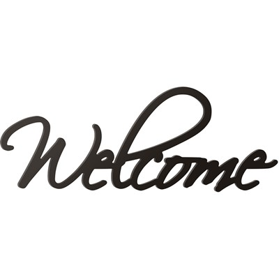 """Welcome"" Word Sign"