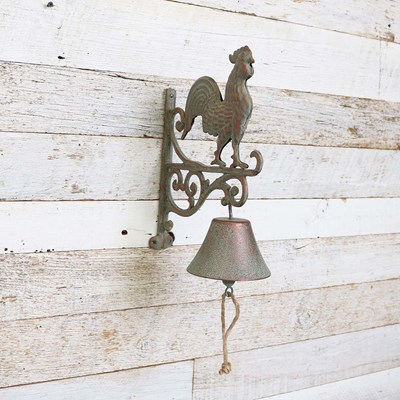 Cast Iron Rooster Dinner Bell