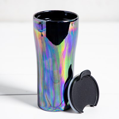 Iridescent Double Wall Tumbler - 15 oz.