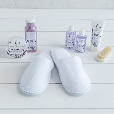 8-Piece Footcare Slipper Set