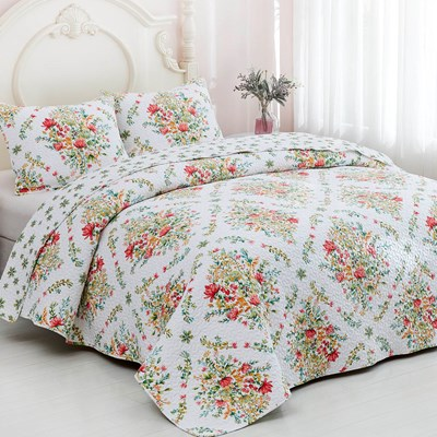 Emily Whole Cloth Quilt - King