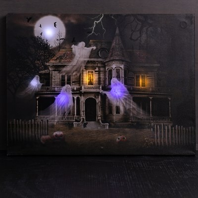 Flying Ghosts LED Canvas with Sound