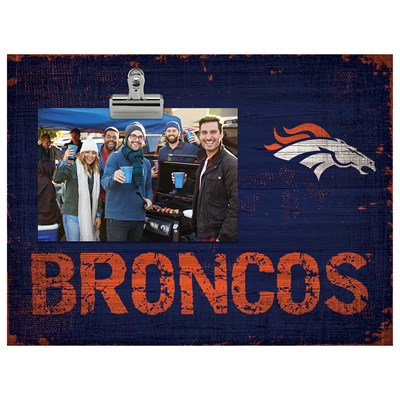 Denver Broncos - Team Clip Frame