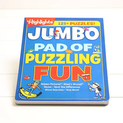 Highlights Jumbo Pad Of Puzzling Fun