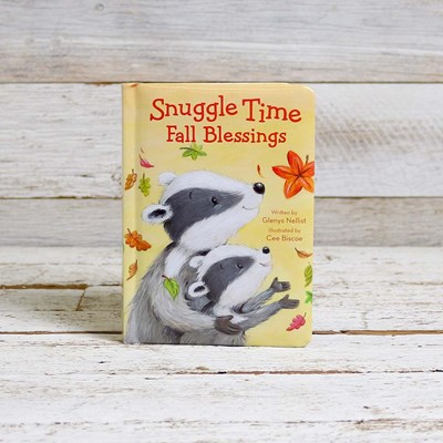 Snuggle Time Fall Blessings Book