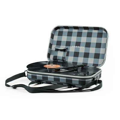 Crosley ® Messenger Portable Battery-Powered Record Player - Plaid