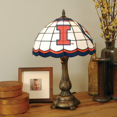 Tiffany Table Lamp - Illinois