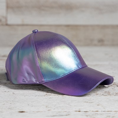 Metallic Baseball Hat