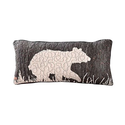 Moonlit Bear Rectangle Decorative Pillow by Donna Sharp