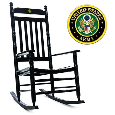 U.S. Army Rocking Chair
