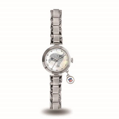 Tampa Bay Buccaneers Ladies Charm Watch