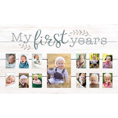 """My First Years"" Photo Frame"