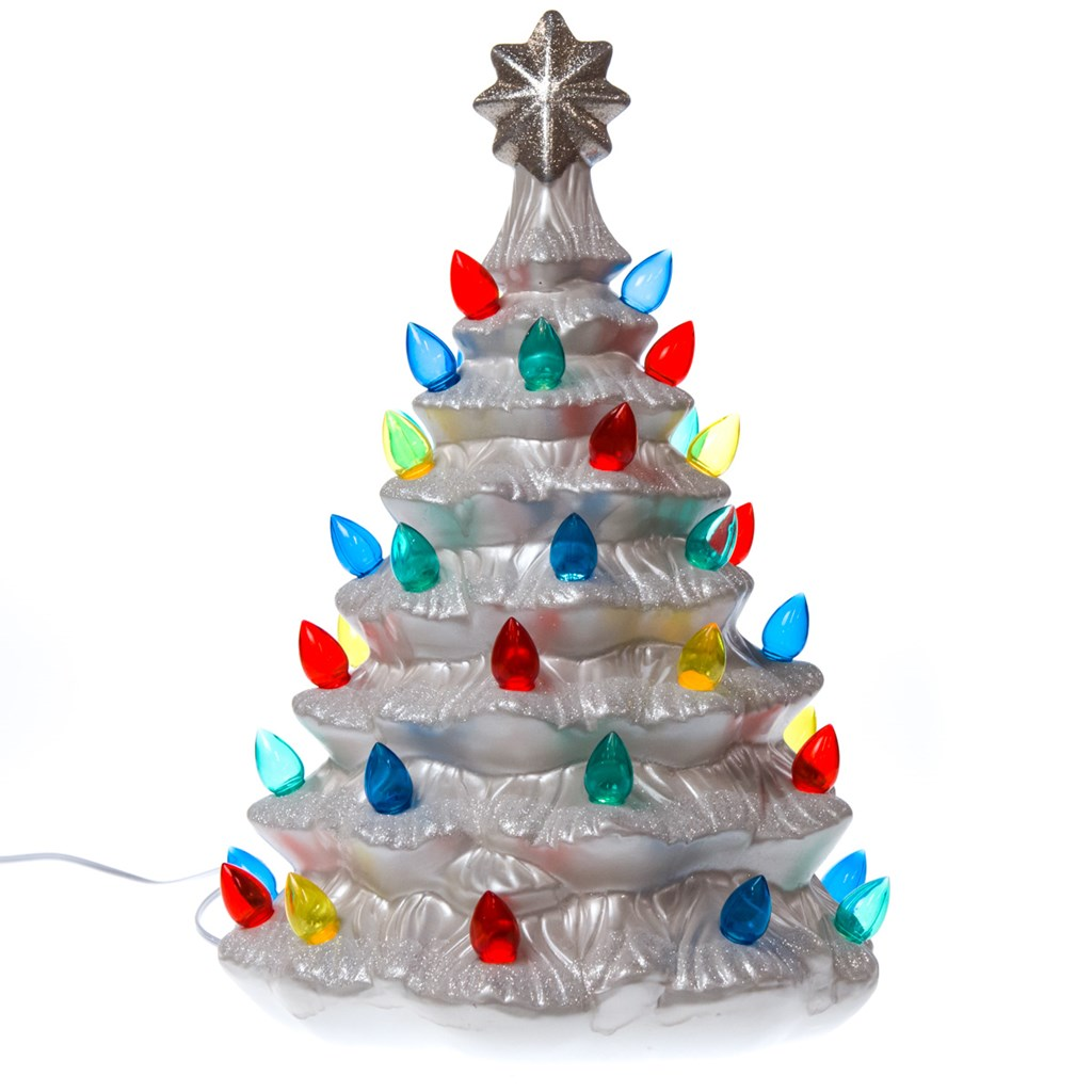 light up nostalgic ceramic christmas treelight up nostalgic ceramic christmas tree