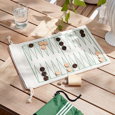 Backgammon and Checkers Set