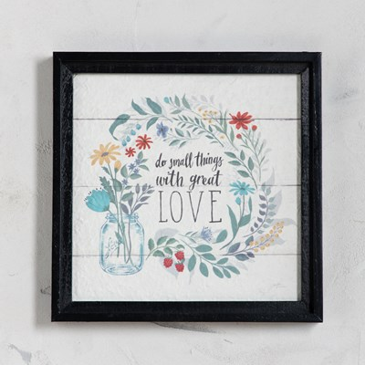 Small Things in Great Love Wall Decor