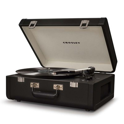 Crosley ® Portfolio Portable Bluetooth Record Player - Black