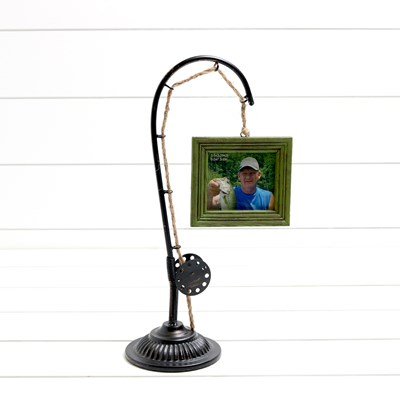 Fishing Pole Photo Frame
