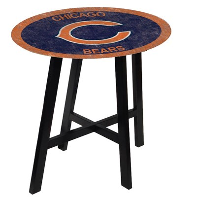 Chicago Bears - Team Color Pub Table