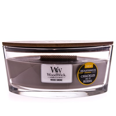 WoodWick ® Wood Smoke HearthWick Flame ® Candle
