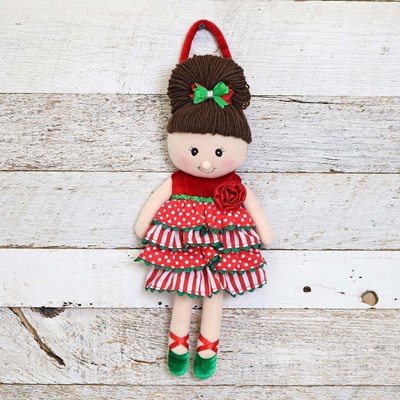 Toddler Christmas Doll Shaped Purse