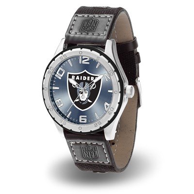 Oakland Raiders Gambit Men's Watch