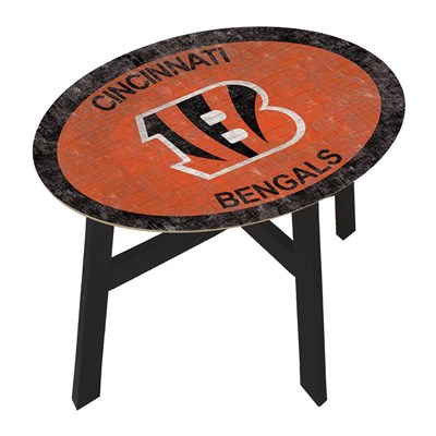 Cincinnati Bengals - Team Color Side Table