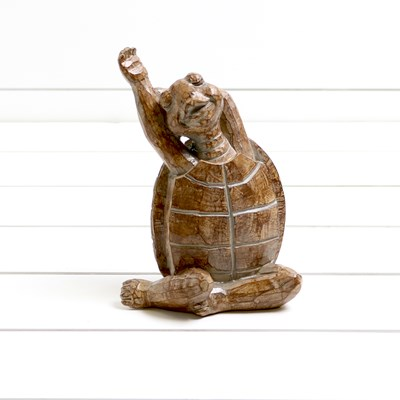 Yoga Turtle with Side Stretch