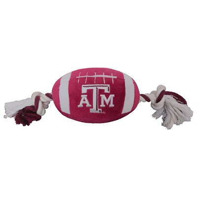 Football Rope Dog Toy - Texas A&M