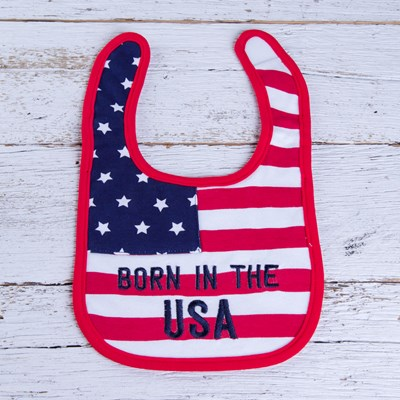 """Born in the USA"" Bib"