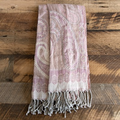 Blush Tapestry Scarf