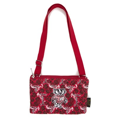 Wisconsin - Cross Body Bloom Purse