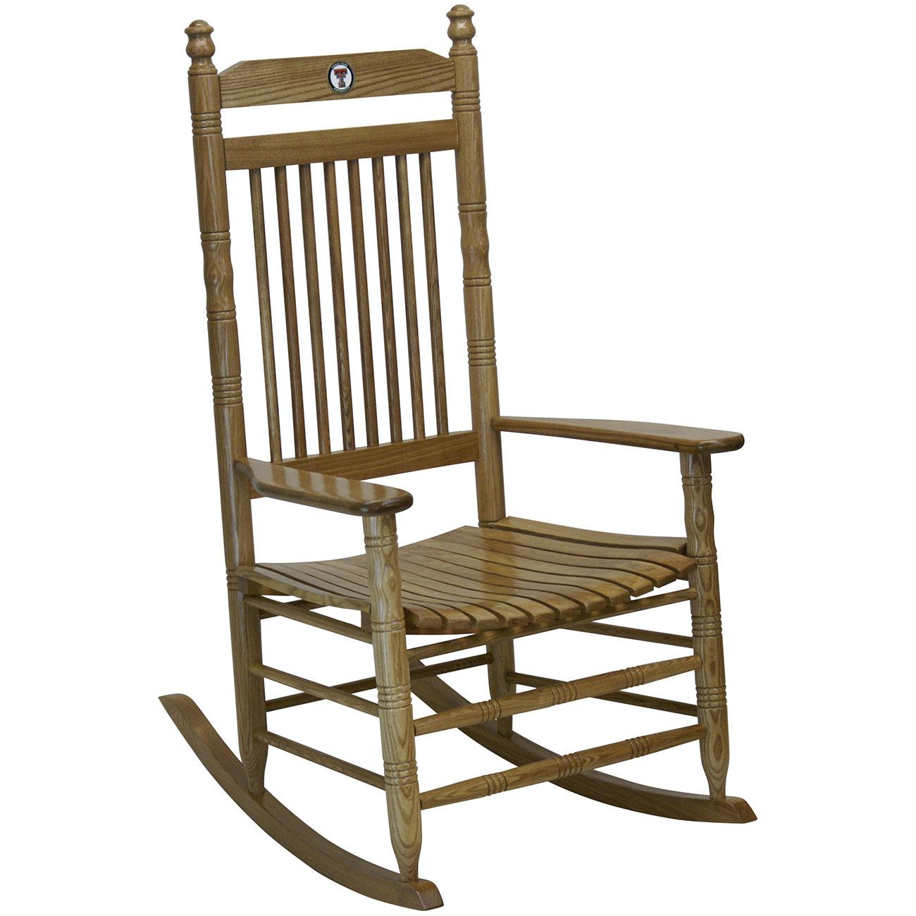 Shop.crackerbarrel.com: Hardwood Rocking Chair   Texas Tech   Cracker  Barrel Old Country Store