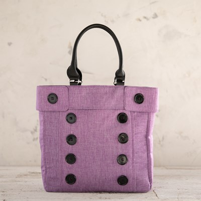 Purple Peacoat Tote