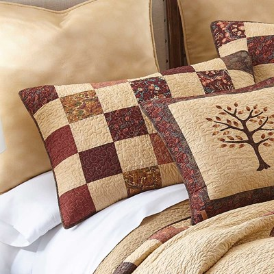 Autumn Tree of Life Sham by Donna Sharp
