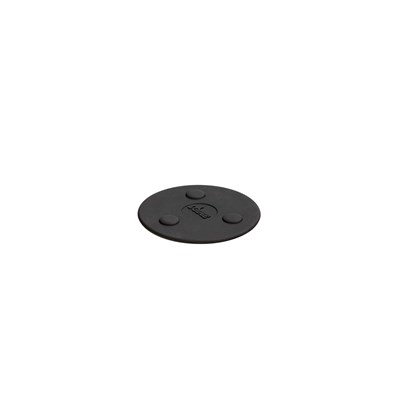 "Lodge ® 5"" Silicone Mini Magnet Trivet - Black"