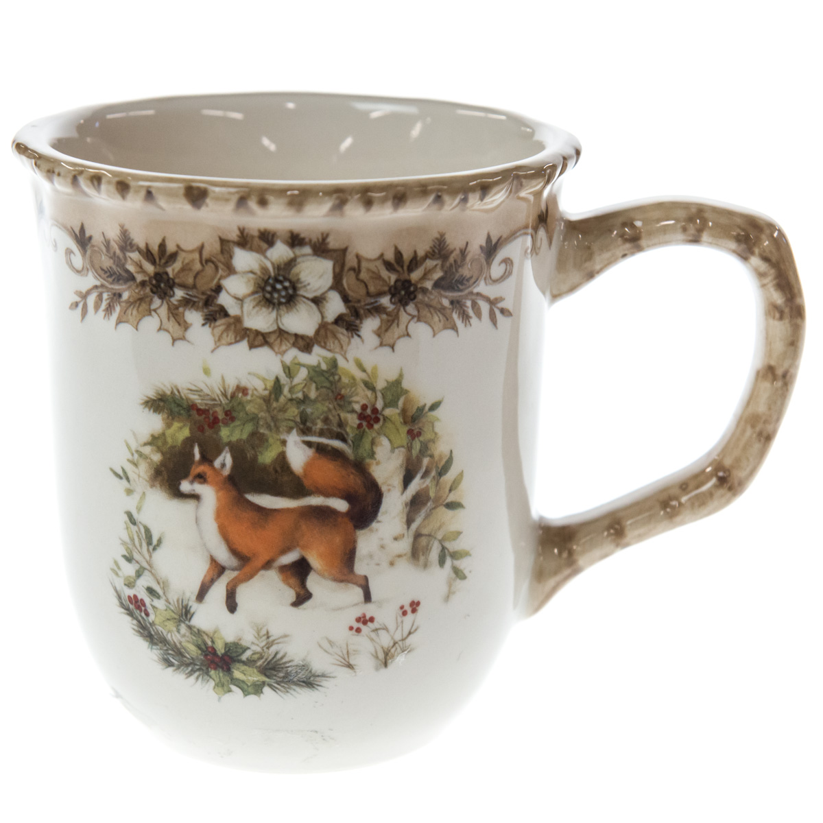 Woodland Stoneware Mug - Fox  sc 1 st  Shop Cracker Barrel & Woodland Christmas Dinnerware - Cracker Barrel Old Country Store