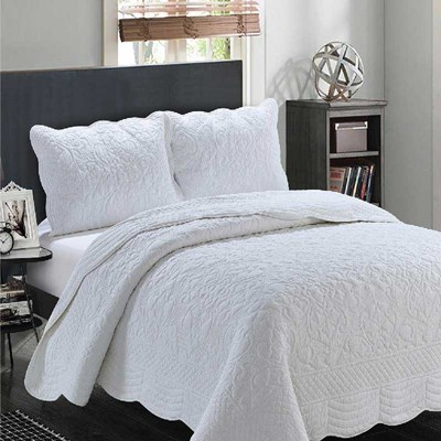 Marcey Whole Cloth White Sham